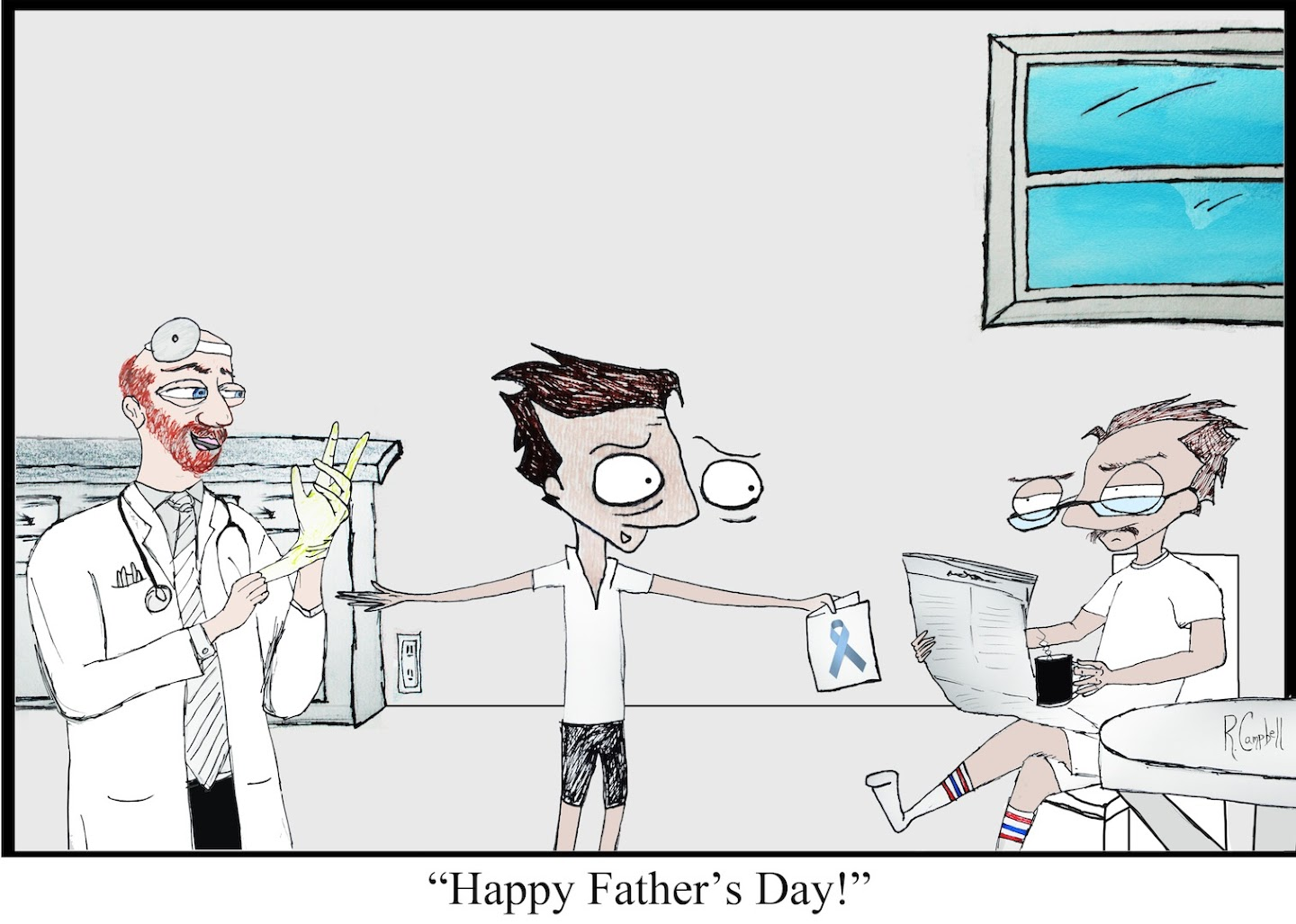 Happy Father's Day by Robby Campbell