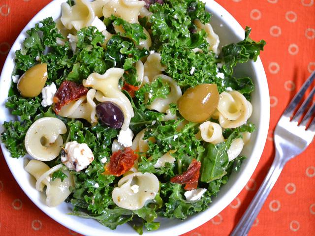 Kale & Pasta Salad