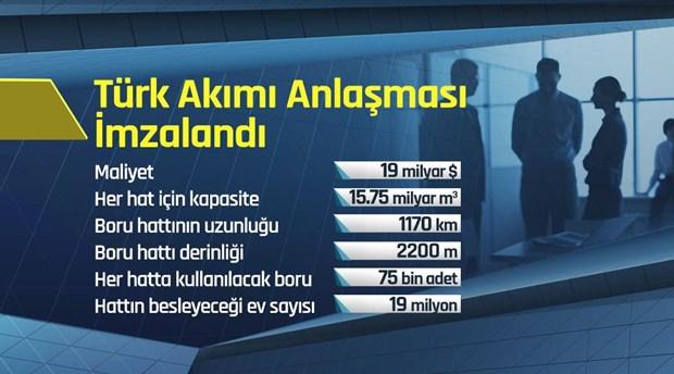 Türk Akımı Hattı Kapasite Bilgileri