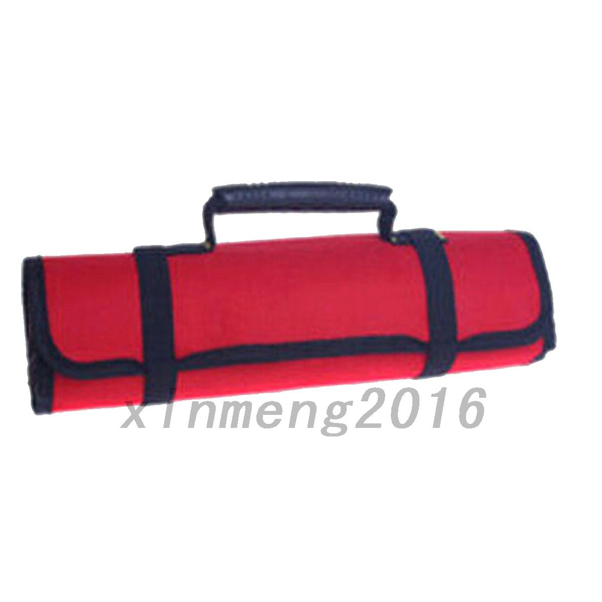 durable canvas spanner wrench tool roll up storage bag organizer boxes ebay. Black Bedroom Furniture Sets. Home Design Ideas