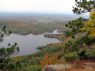 Another view of Lake Dunmore, looking northwest.