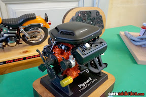 Plymouth HemiCuda Engine block model
