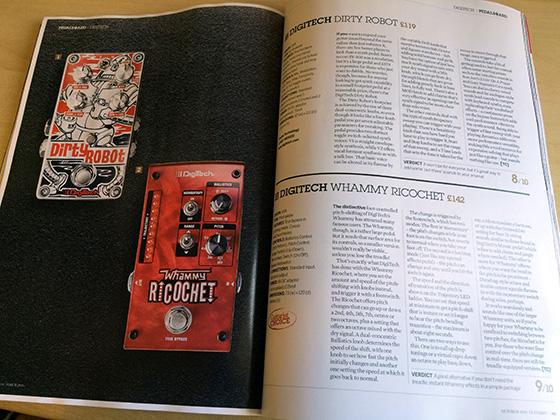 Guitarist robot ricochet 560