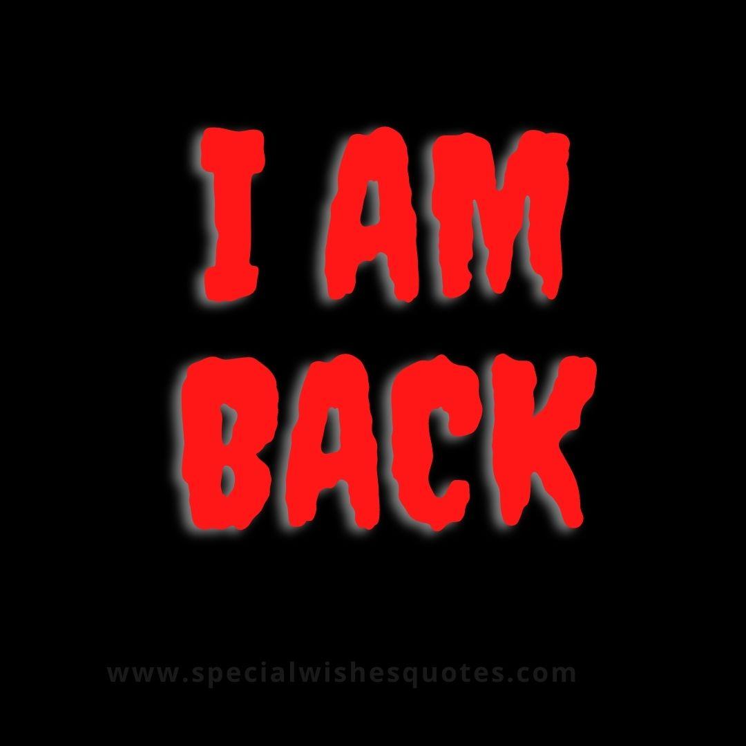 i am back attitude boy whatsapp dp