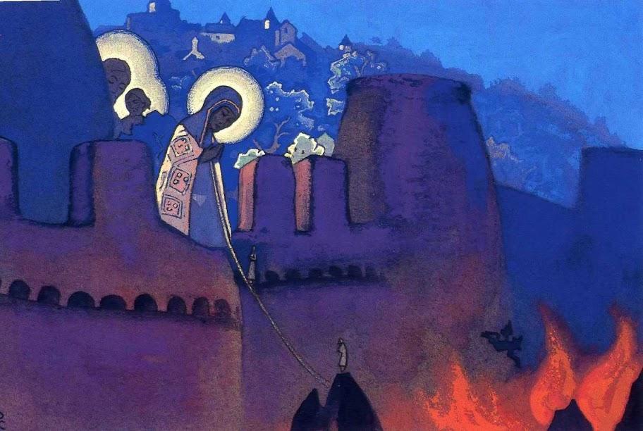 Nicholas Roerich - Madonna Laboris