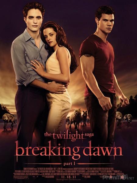 Chạng vạng 4: Hừng đông Phần 1 - The Twilight Saga 4: Breaking Dawn Part 1 (2011) | Full HD Vietsub