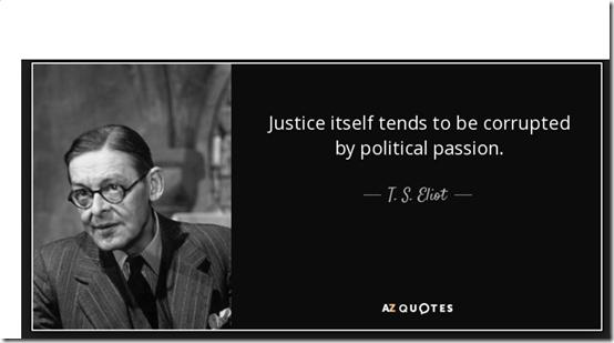 Justice corrupt