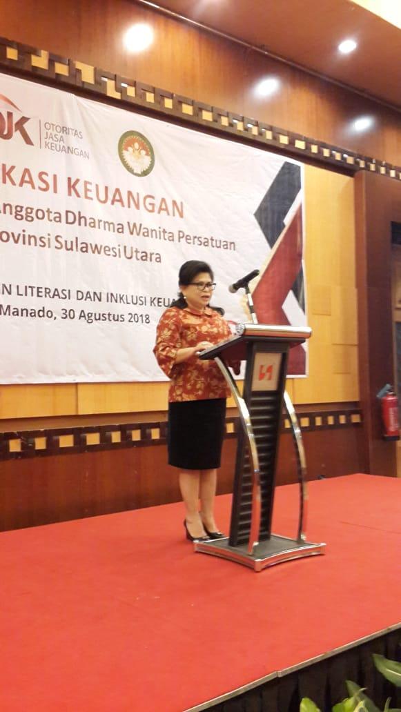Humas Provinsi Sulawesi Utara Dra Ivonne Silangen Lombok Ajak Dwp