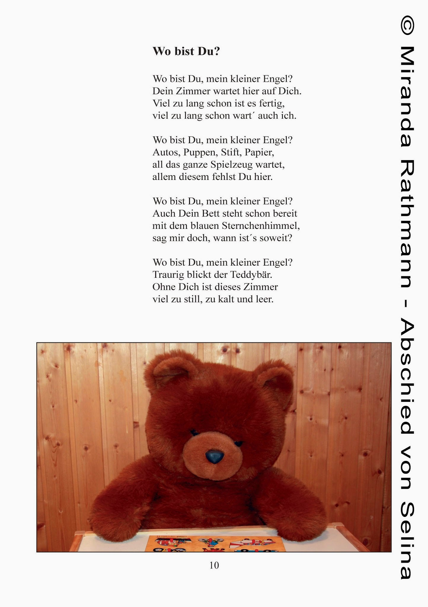 Gedicht kleiner engel