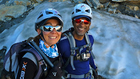 Sur le glacier de la Girose