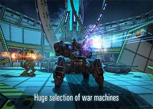 لعب حرب الدبابات والروبوتات