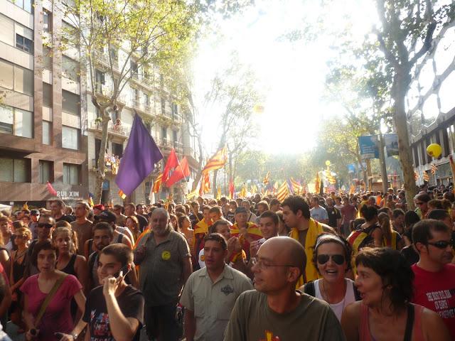 manifestació 11 set 2012 Barcelona