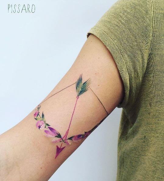 este_floral_arco_e_flecha