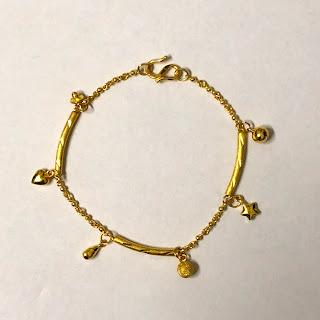 24 K Gold Bracelet