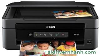 Cách download và setup driver máy in Epson XP-208