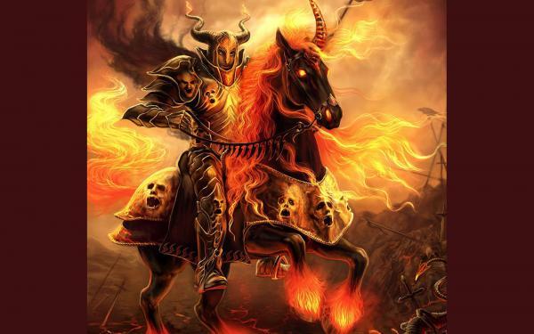 Flame Horseman, Evil Creatures 2