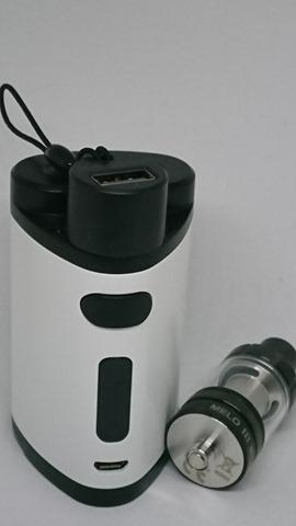 DSC 1436 thumb%25255B2%25255D - 【MOD】「Eleaf iStick Pico Dual MOD」デュアルバッテリー&モバブー!レビュー。大型アトマも搭載できるPico拡張機【モバイルバッテリー/VAPE/電子タバコ】