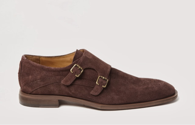 Double Monk Strap Leather Dress Shoes With Jeans