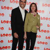 OIC - ENTSIMAGES.COM - Brett Goldstein and Natalia Tena  at the LOCO Superbob UK film Premiere Q and A at BFI London 24th January 2015 Photo Mobis Photos/OIC 0203 174 1069
