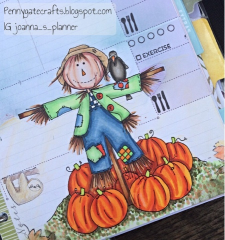 planner-stamping-autumn-fall-scarecrow