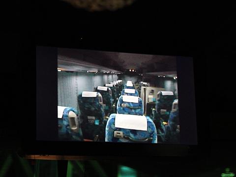 長崎自動車「オランダ号」 ・532 車内設備案内 その2