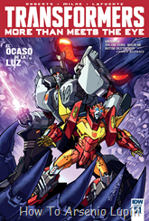Actualización 10/05/2016: Transformers - More than Meets the Eye #51 y #52, traduce DarkScreamer, revisa Serika y maqueta Byjana.