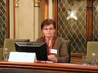 18 - Pogány Erzsébet beszámol a SZAKC és a Kisebbségi Jogvédő Intézet együttműködéséről és az elért eredményekről.JPG