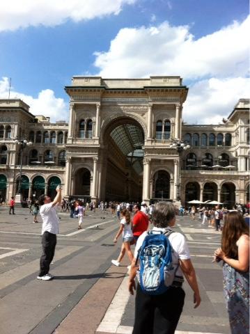 Milan galeries