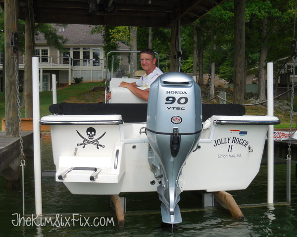 Personalized fishing boat