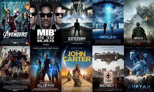 MOSAICO DE FILMES SOBRE OVNI UFO