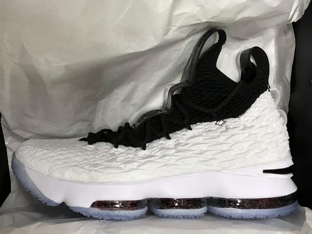 868c12a96a9 There Really is Graffiti Print on the Nike LeBron XV  Graffiti ...