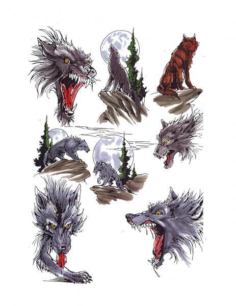 Design Of Magical Tattoo 1, Fantasy Tattoo Designs