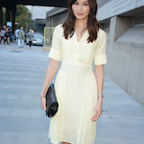 WWW.ENTSIMAGES.COM -    Gemma Chan   arriving at        BRIGHT YOUNG THINGS GALA 2014 at The National Theatre, London September 18th 2014A Young Patrons of the National Theatre gala event in support of emerging artists. The inaugural Bright Young Things Gala aims to raise vital funds in support of emerging artists at The National Theatre, and champion young philanthropy in the arts on a peer to peer level.                                               Photo Mobis Photos/OIC 0203 174 1069