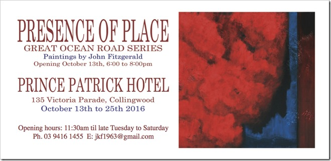 Presence of Place DL Invite
