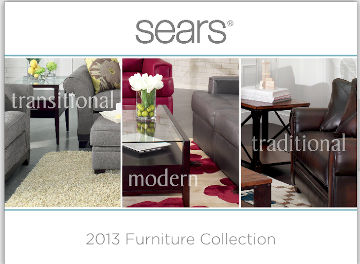 Get Design Inspiration with the 2014 Sears Furniture Collection