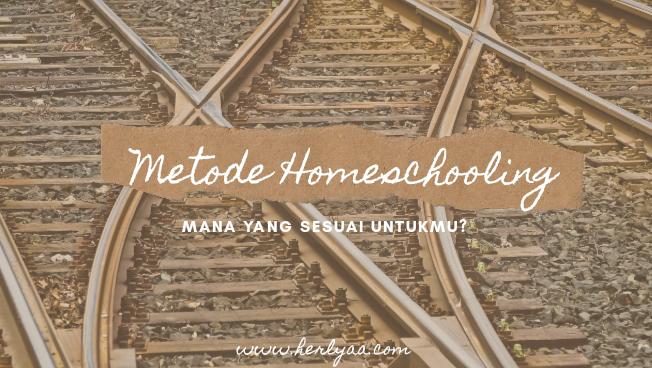 Yok Mengenal Metode Homeschooling!