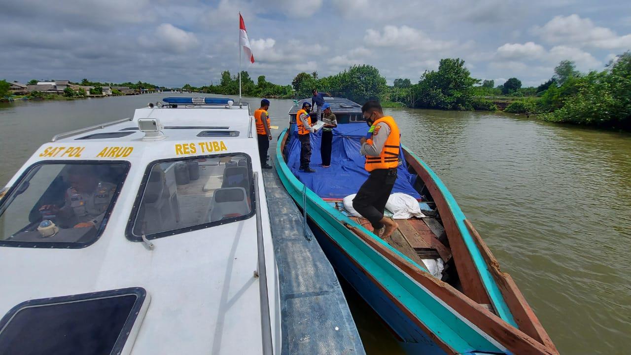 Tujuan Satpolair Polres Tulang Bawang Gelar Patroli Perairan