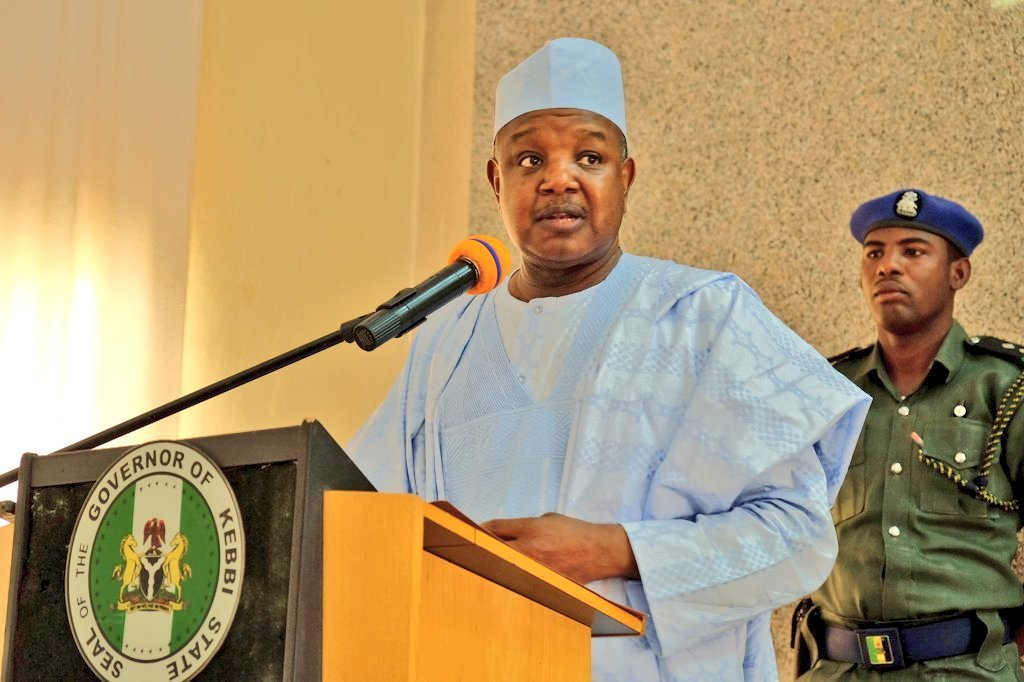 COVID-19:Governor Bagudu Set Up A Task Force To Deal with The Scourge