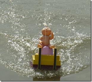 5 rude baby remote control boat