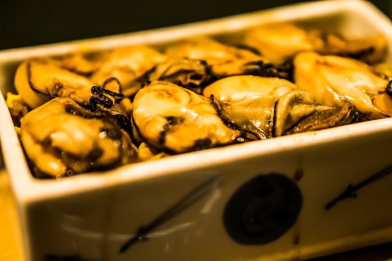 宮島 カキ まめたぬき 牡蠣の陶箱飯