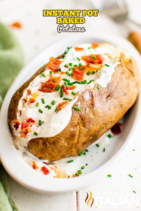 instant pot baked potatoes