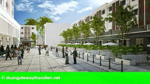 Hình 2: Mô hình nhà phố khởi nghiệp The One Central