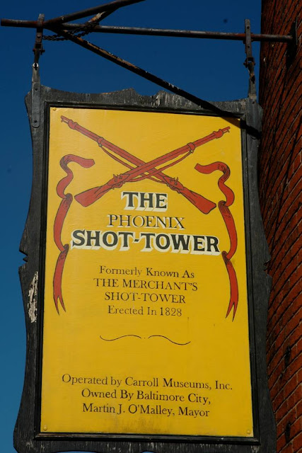 From 1828 - 1898, the Tower produced 2.5 million pounds of drop shot annually.