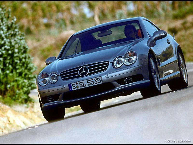2004 mercedes benz sl class sl55 amg specifications for Mercedes benz amg 6 3 liter v8 price