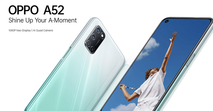 Oppo A52 Fitur