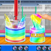 مصنع الوحل الملونة: DIY rainbow اسفنجي غروي APK