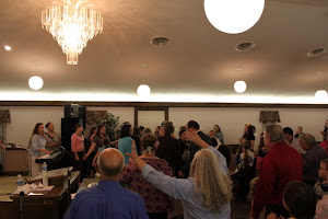 Feeling the FIRE of the Holy Ghost!