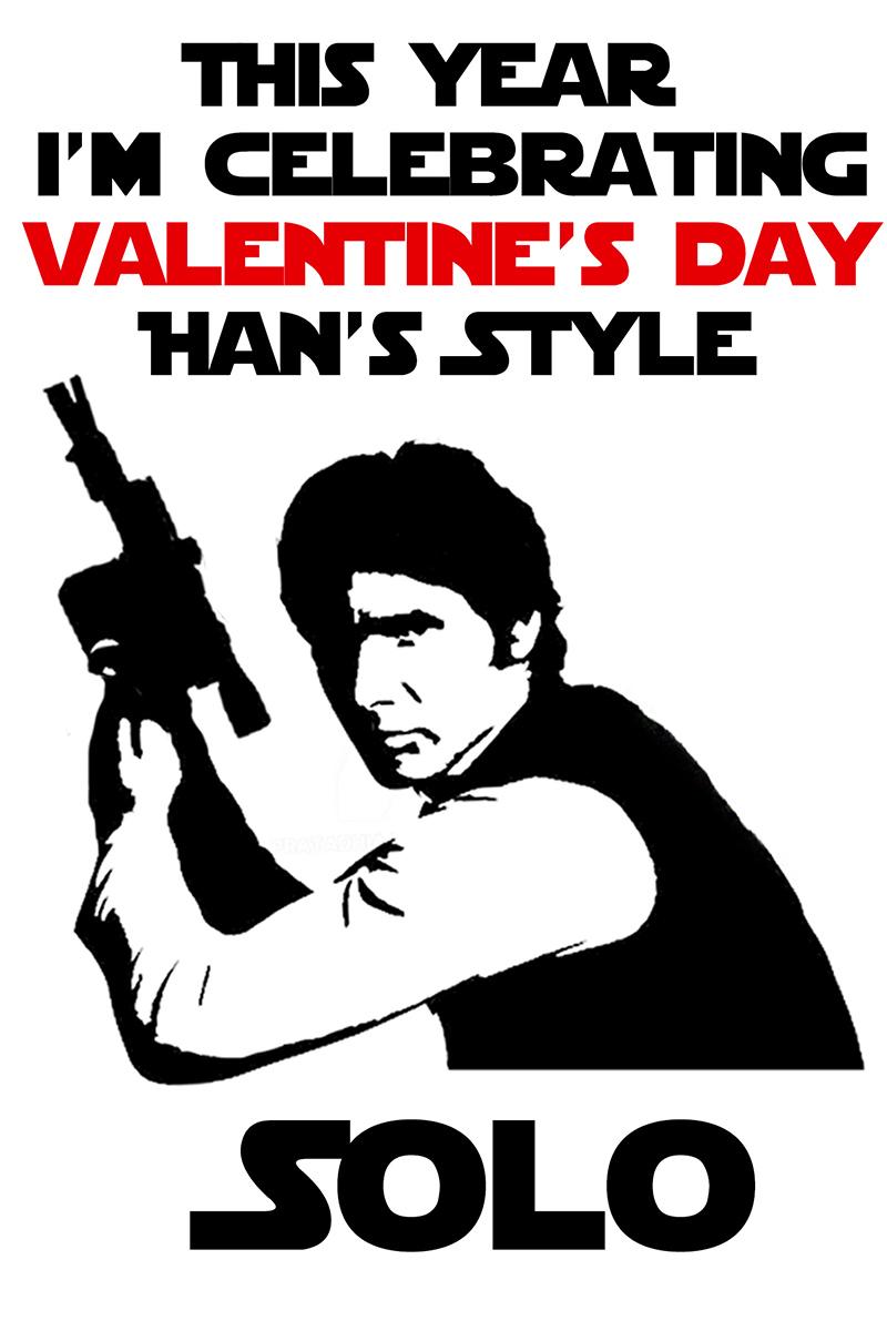 Han Solo Valentine Example