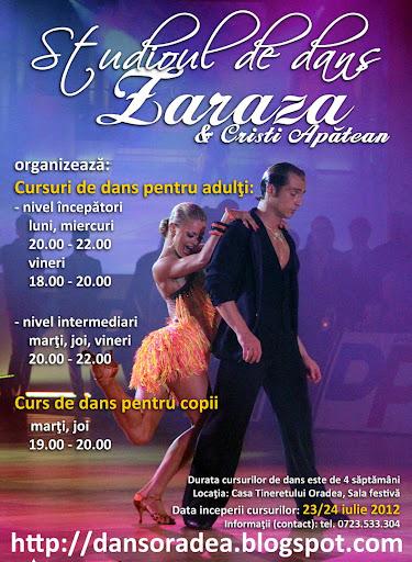 cursuri de dans Oradea, curs de dans pentru adulti Oradea, curs de dans de societate Oradea, iunie 2012