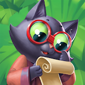 Tropicats: Play Match 3 & Decorate Paradise Island
